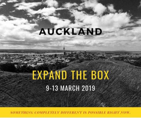 Expand The Box Auckland, picture of city. Something completely different is possible right now.