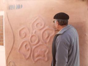 Jorge Belanko earth plastering