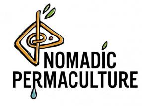 Nomadic Permaculture Logo Grow your own Vegetable Garden